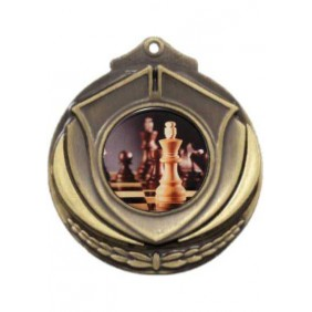 Chess Medal M431-C781 - Trophy Land
