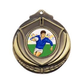 Rugby Medal M431-K139 - Trophy Land