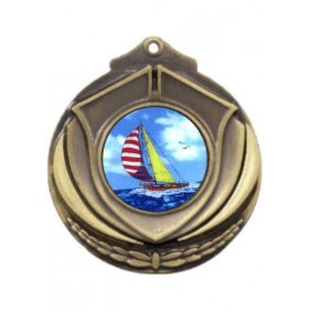 Sailing Medal M431-K147 - Trophy Land