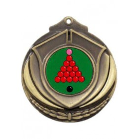 Snooker Medal M431-K158 - Trophy Land