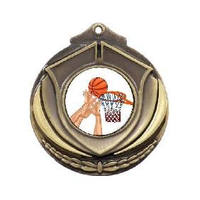 Basketball Medal M431-K27 - Trophy Land