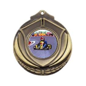 Motorsports Medal M431-K37 - Trophy Land
