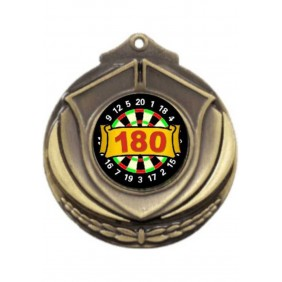 Darts Medal M431-K67 - Trophy Land