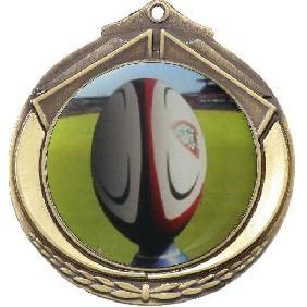 Rugby Medal M432-C131 - Trophy Land
