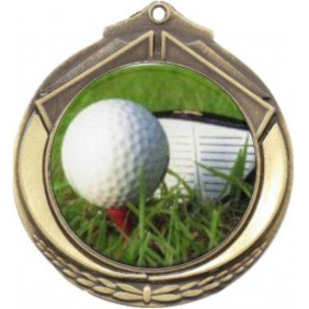 Golf Medal M432-C171 - Trophy Land