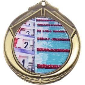 Swimming Medal M432-C201 - Trophy Land