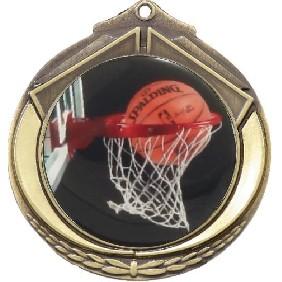 Basketball Medal M432-C601 - Trophy Land