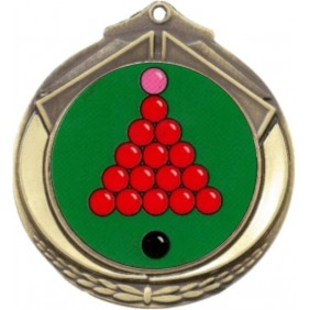Snooker Medal M432-K158 - Trophy Land