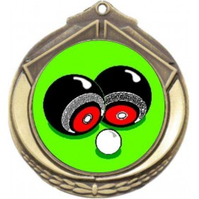 Lawn Bowls Medal M432-K31 - Trophy Land