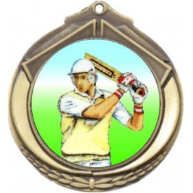 Cricket Medal M432-K48 - Trophy Land