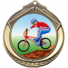 Cycling Medal M432-K54 - Trophy Land