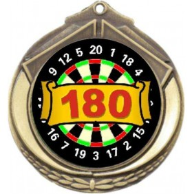 Darts Medal M432-K67 - Trophy Land