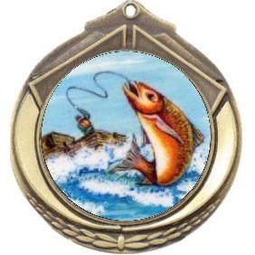 Fishing Medal M432-K77 - Trophy Land