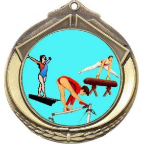 Gymnastics Medal M432-K92 - Trophy Land