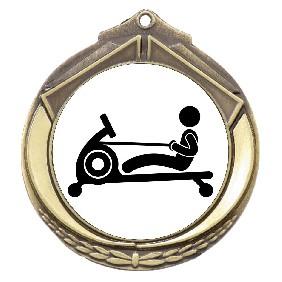 Exercise Medal M432-TLRowM - Trophy Land
