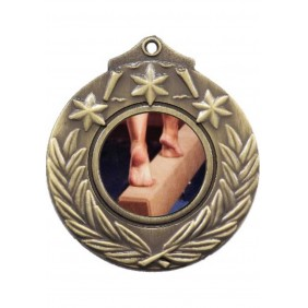 Gymnastics Medal M841-C141 - Trophy Land