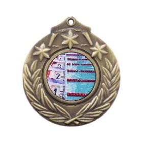 Swimming Medal M841-C201 - Trophy Land