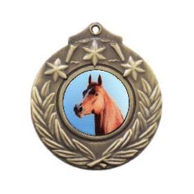Horse Medal M841-C351 - Trophy Land