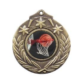 Basketball Medal M841-C601 - Trophy Land