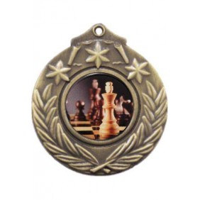 Chess Medal M841-C781 - Trophy Land
