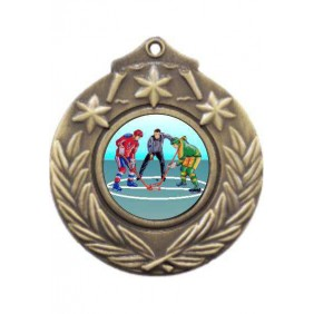 Ice Hockey Medal M841-K105 - Trophy Land