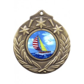Sailing Medal M841-K147 - Trophy Land