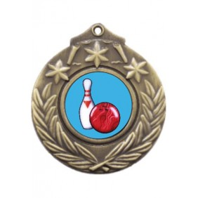 Ten Pin Medal M841-K173 - Trophy Land