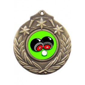 Lawn Bowls Medal M841-K31 - Trophy Land