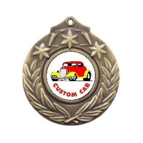 Motorsports Medal M841-K35 - Trophy Land