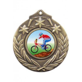 Cycling Medal M841-K54 - Trophy Land