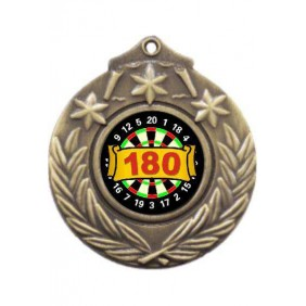 Darts Medal M841-K67 - Trophy Land