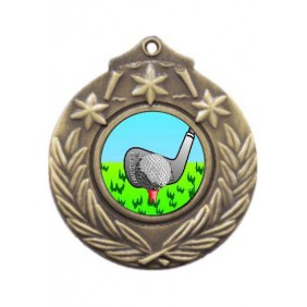 Golf Medal M841-K88 - Trophy Land