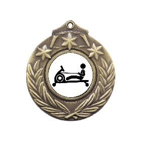 Exercise Medal M841-TLRowM - Trophy Land