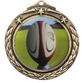 Rugby Medal M842-C131 - Trophy Land