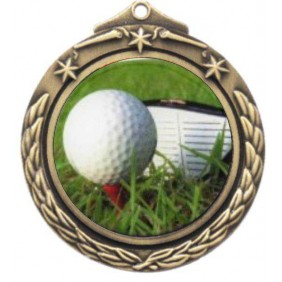 Golf Medal M842-C171 - Trophy Land