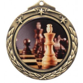 Chess Medal M842-C781 - Trophy Land