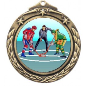 Ice Hockey Medal M842-K105 - Trophy Land