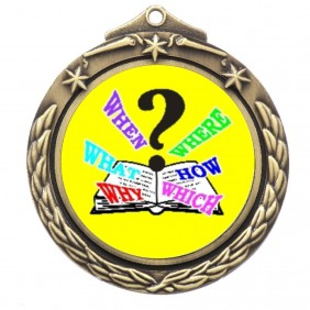 Trivia Medal M842-K132 - Trophy Land