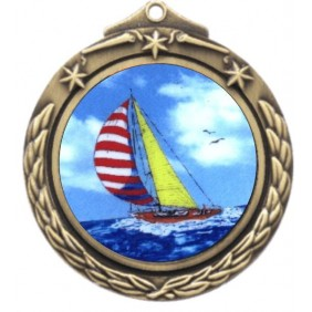 Sailing Medal M842-K147 - Trophy Land