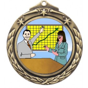 Sales Medal M842-K148 - Trophy Land