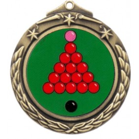 Snooker Medal M842-K158 - Trophy Land