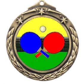 Ping Pong Medal M842-K169 - Trophy Land