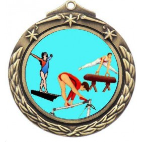 Gymnastics Medal M842-K92 - Trophy Land
