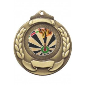 Darts Medal M861-C381 - Trophy Land
