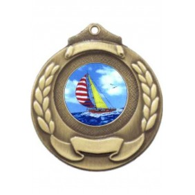 Sailing Medal M861-K147 - Trophy Land
