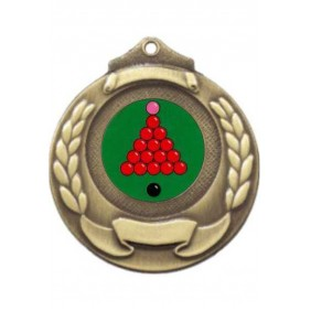 Snooker Medal M861-K158 - Trophy Land