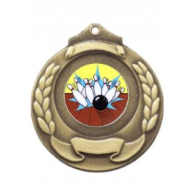 Ten Pin Medal M861-K174 - Trophy Land