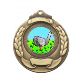 Golf Medal M861-K88 - Trophy Land