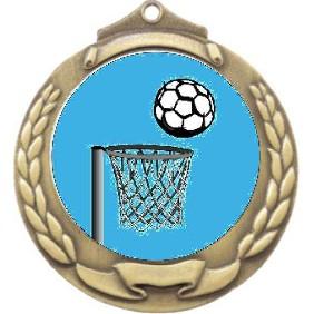 Netball Medal M862-K121 - Trophy Land