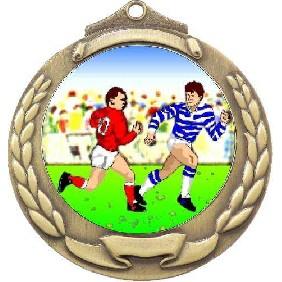 Rugby Medal M862-K136 - Trophy Land